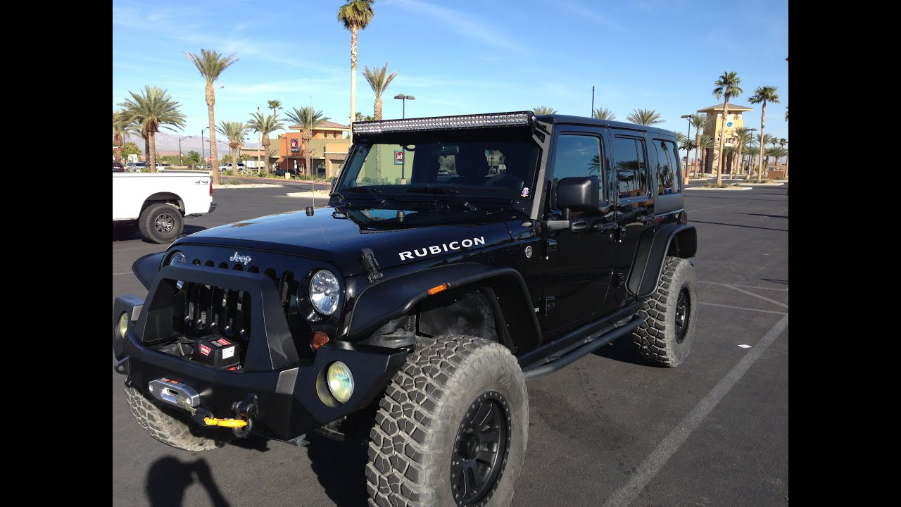 Bushwacker S Flat Fender Flares Installation On 2012 Jku