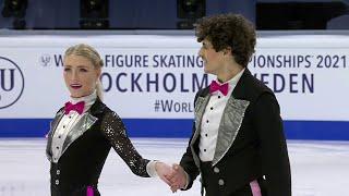 Пайпер Гиллес Поль Пуарье Ритм танец Танцы на льду Чемпионат мира по фигурному катанию 2021