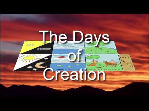 Days of Creation Video for Kids