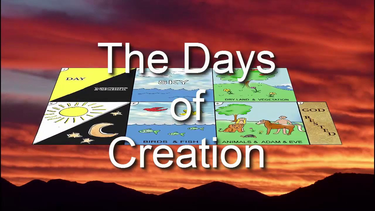 Days Of Creation For Kids