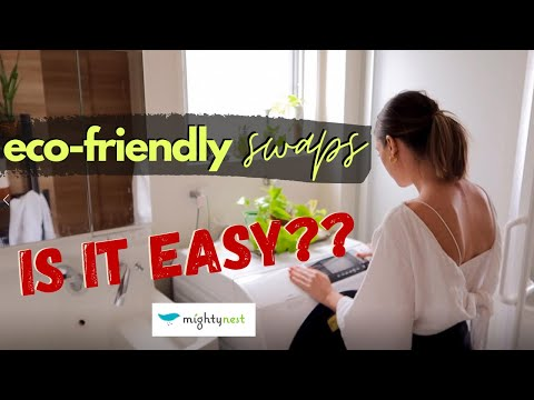 How I'm reducing my waste in Japan. SUSTAINABLE HOME + ECO-SWAPS that are EASY! ft MightyFix Review