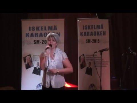 Iskelmä SM-Karaoke 2015 finaali: Leena Puro - Mun sydän villi vallaton