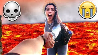 We Almost DIED Today...💀(With MooseCraft & Girlfriend)