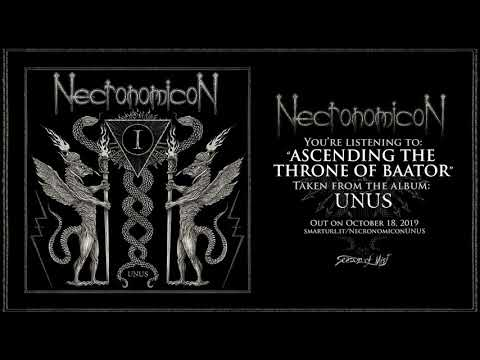 Necronomicon - Ascending the Throne of Baator (Official Track)