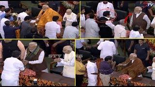 டெல்லியில் பாஜக தலைமையிலான தே.ஜ. கூட்டணி எம்.பிக்கள் கூட்டம்