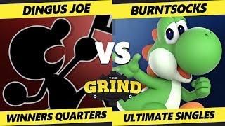 Smash Ultimate Tournament - Dingus Joe (Game & Watch) Vs. burntsocks (Yoshi) - The Grind 68 SSBU WQ