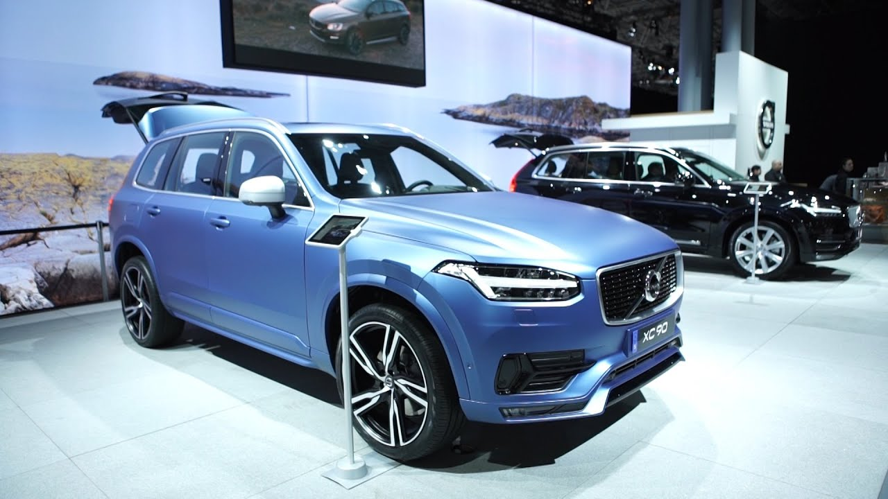 volvo at the 2015 ny auto show xc90 plug in hybrid suv. Black Bedroom Furniture Sets. Home Design Ideas