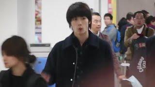 三浦春馬從松山機場抵達台灣.