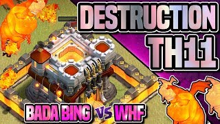 11v11 BOLALOON TRIPLE | CUSTOM MASS MINER 10v10 YOU MUST SEE | Bada vs WHF | Clash of Clans