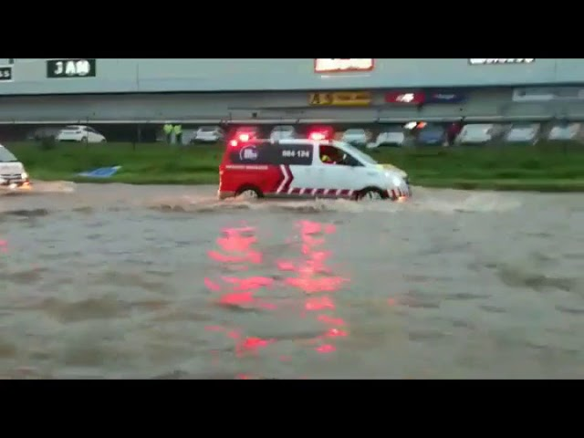 Durban Storm 10/10/2017 many clips of destruction being distributed today