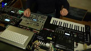 Rufes Live - High Spirits # Live session with Elektron machines + new Analog Four MK2