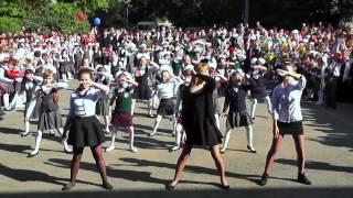 День Знаний  школа номер 9 г Куйбышев  Флэш моб
