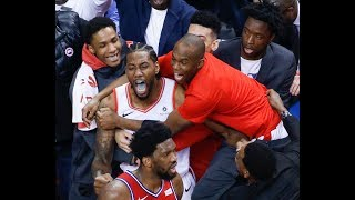 Kawhi Leonard Sends Philadelphia 76ers Home With Epic Buzzer-Beater in Game 7