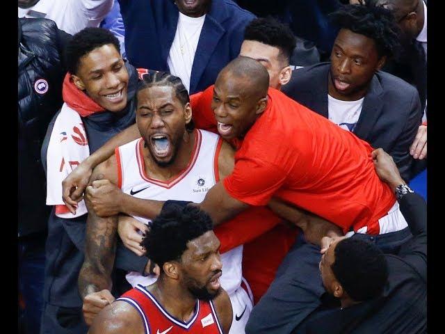 Kawhi Leonard Sends Philadelphia 76ers Home With Epic Buzzer-Beater in Game 7