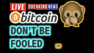 BITCOIN 💥Is This A FAKE BULL RALLY ??? 💥❗️LIVE Crypto Analysis TA & BTC Cryptocurrency Price News