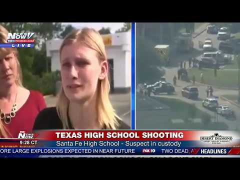 LIVE: 8 Dead in High School Shooting Santa Fe High School