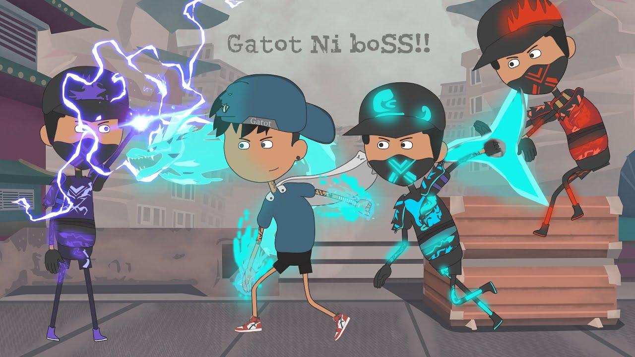 Animation Free fire - Ninja Bayaran Menyerang Bermuda - animasi ff terbaru
