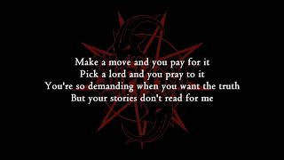 Slipknot - Unsainted [Lyrics Video]