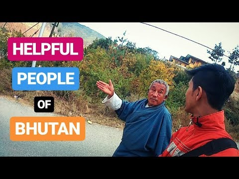 Very Helpful People of BHUTAN | Indian Solo Traveler Journey