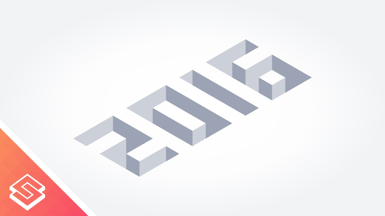 Isometric Logo Glitch By Obispost: Inkscape Tutorial: Isometric Numbers