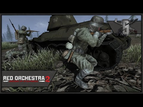 Epic German Frontal Assault on the Bridge - Red Orchestra 2 - Battle Spectator