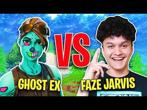 FaZe Jarvis Vs Ghost Ex (Fortnite 1v1)