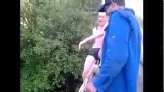 Scouts de malonne sauts dans la Lesse!