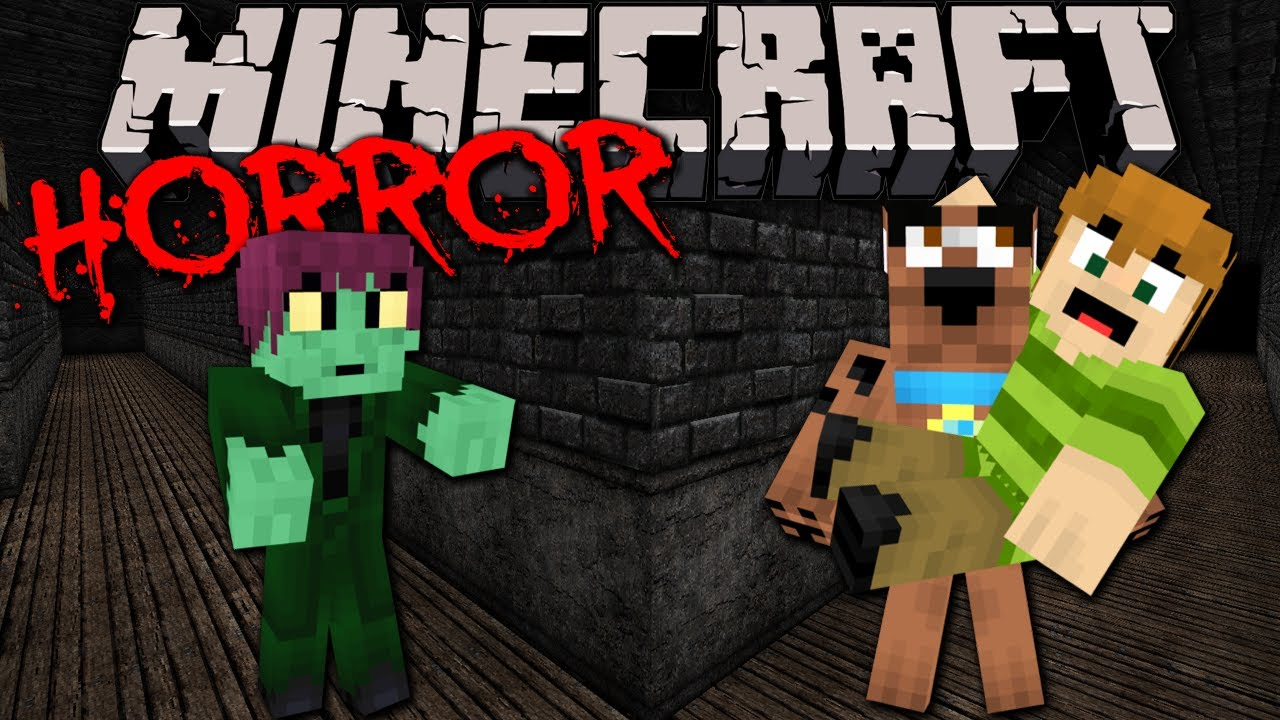 STAIRS: Scary Minecraft Horror Adventure with Scooby Doo & Shaggy ...