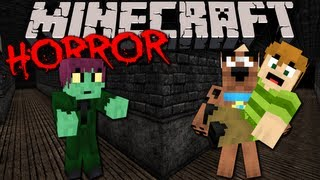 STAIRS: Scary Minecraft Horror Adventure with Scooby Doo & Shaggy! FINALE