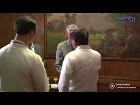 Farewell Call of H.E. Roland Van Remoortele, Ambassador of Belgium to the Philippines