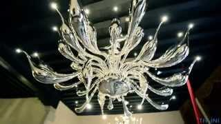 Итальянские светильники и люстры фабрики Lu Murano. ITALINI - поставщик мебели и света из Италии