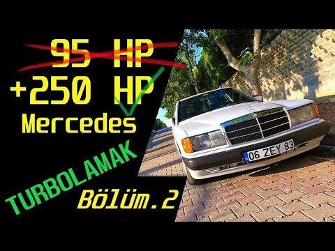 Mercedes 190D Turbo incelemesi +300 HP ! OM605 Dizel Drift Arabası
