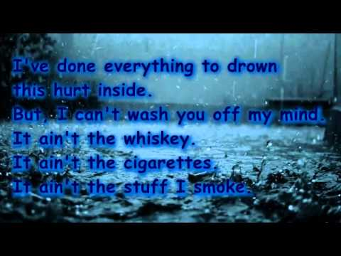 It Ain't The Whiskey by Gary Allan Lyric Video