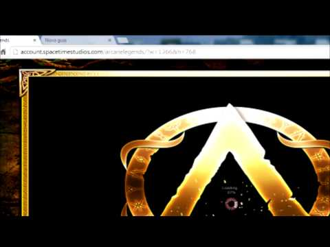 How Play Arcane Legends In Widescreen Google Chrome
