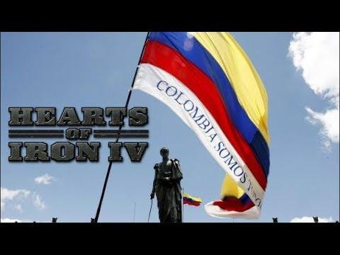 17# Hearts of Iron IV COLOMBIA LA COLONIZACION DE ESPAÑA