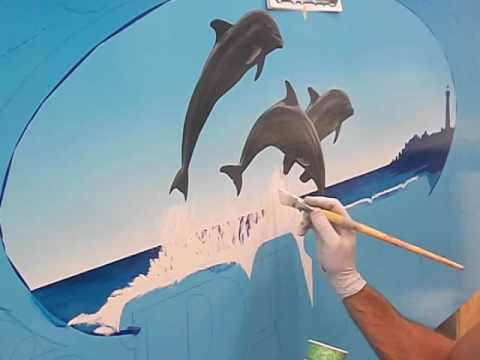 Hand Painted Sign, Step by step.