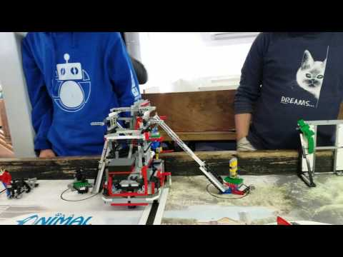 ORBIT 705 FLL 278 points in 2:30 minutes