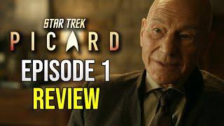 "Star Trek Picard Episode 1 ""Remembrance""  - Review & Breakdown"