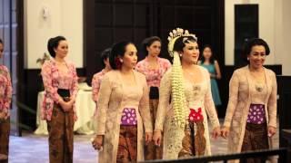 Pernikahan Adat Jawa Cesa Helmi 17 Mey 2014