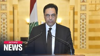 Lebanon's government resigns following deadly explosion and resulting clashes