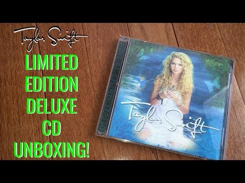 TAYLOR SWIFT LIMITED EDITON DELUXE CD UNBOXING! (2018 Limited Release) Mp3