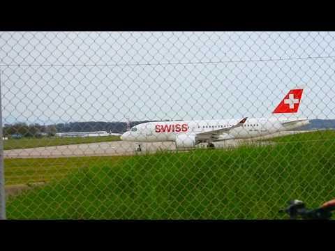 *BA & SWISS* Plane spotting at GVA...British Airways and SWISS