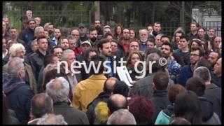 Αρτέμης Σώρρας: Συγκέντρωση οπαδών του στο Ηρώδειο