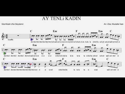 AY TENLİ KADIN--C--:Guitar,Violin,Flute,Melodica,Recorder.