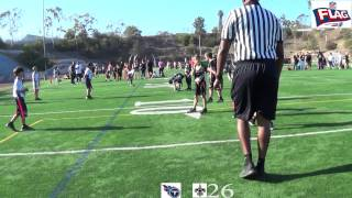 NFL Flag SD North County Championship Game San Diego High School