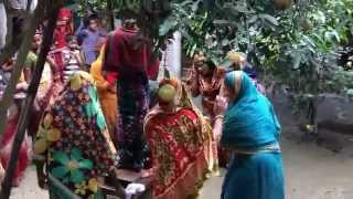 Bangla traditional weeding dance.  Rajshahi oncholer biyer nach. রাজশাহী অঞ্চলের গ্রামীন বিয়ের নাচ.