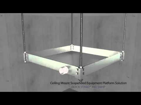 Holdrite Quick Stand Suspended Equipment Platforms Store