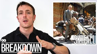 Stuntman Breaks Down Motorcycle Scenes from Movies | GQ
