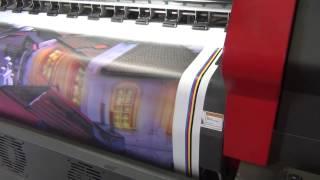 Печать баннеров Минск, Flora LJ 3204P(Печать баннеров Минск. Печатный цех компании