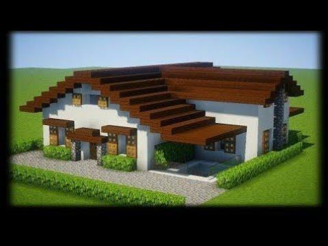 Ma Nouvelle Maison Moderne Minecraft Youtube